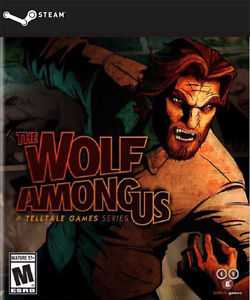 The Wolf Among Us logo