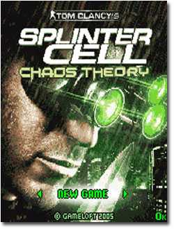 Tom Clancy's Splinter Cell Chaos Theory logo