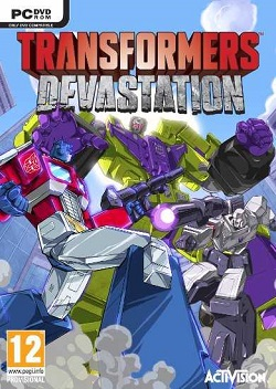 TRANSFORMERS Devastation logo