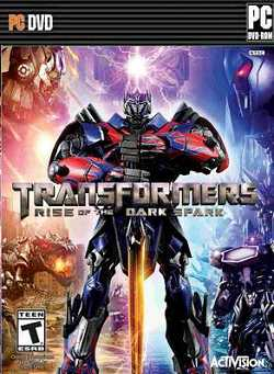 TRANSFORMERS Rise of the Dark Spark logo