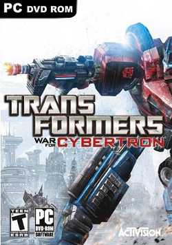 Transformers War for Cybertron logo