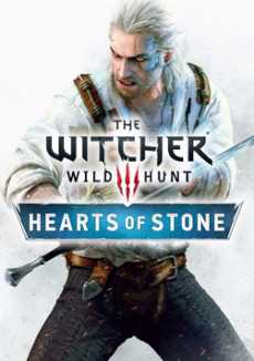 The Witcher 3 Wild Hunt Hearts of Stone Expansion logo