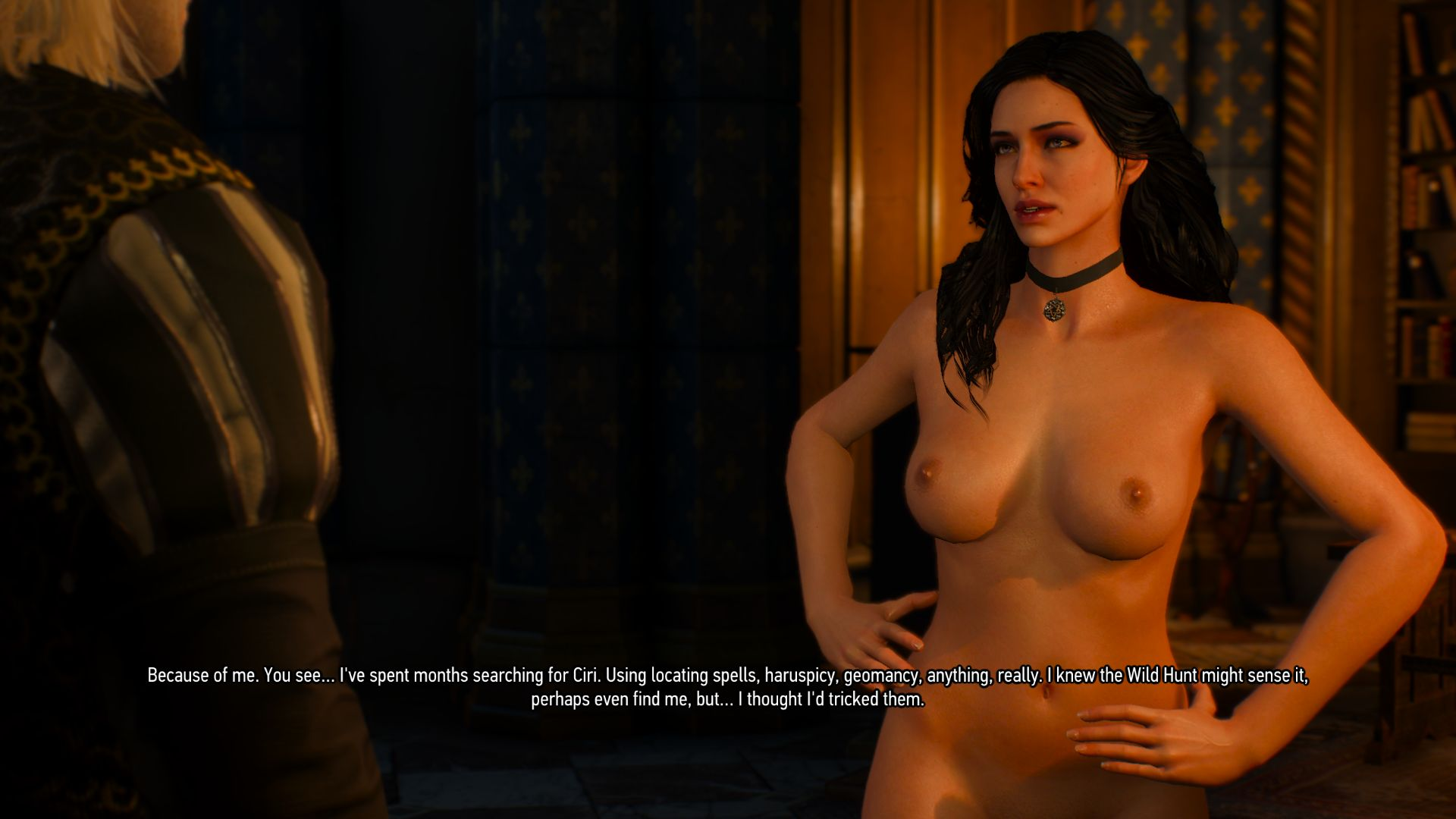 The witcher 3 nude